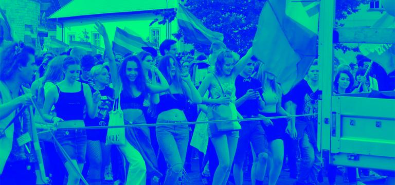Marsz Równości – raj w Krakowie!